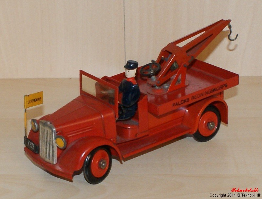 Kranvogn Falcks redningskorps Tekno no. 331