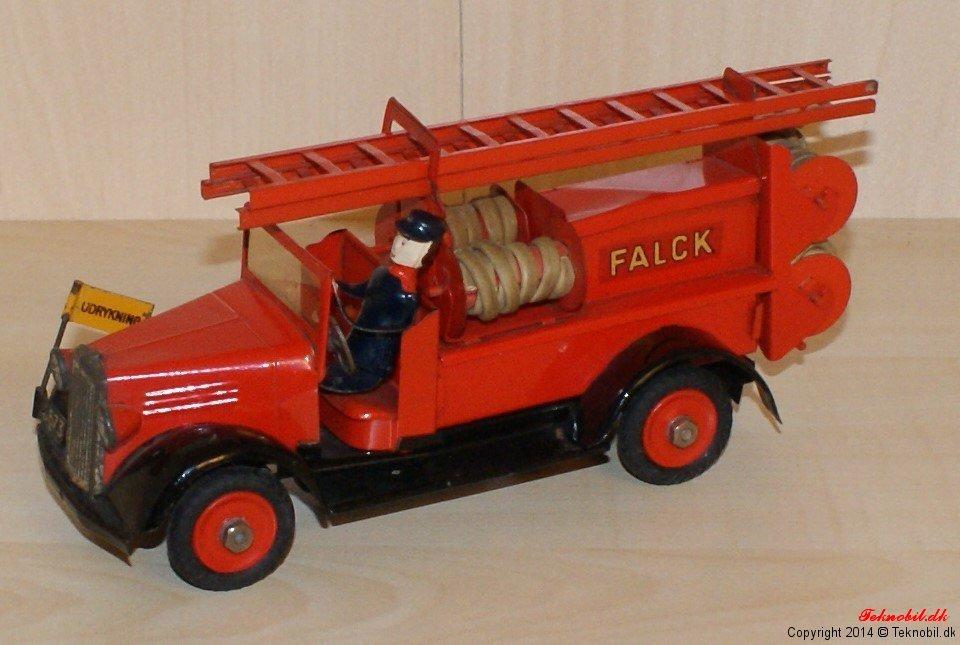 Brandsprøjte Falck Tekno no. 341