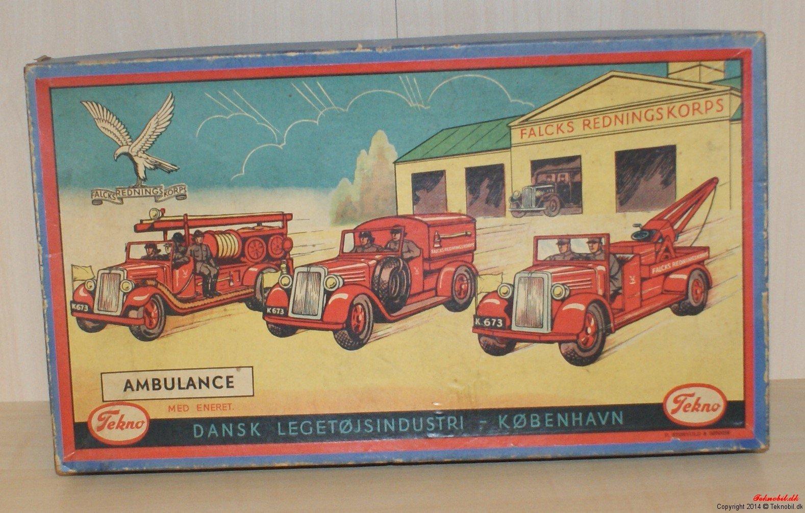 Gaveæske til Tekno no. 351 Ambulance