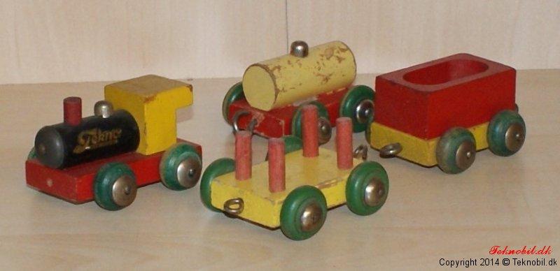 Miniature tog sæt Tekno no. 626