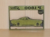 Original Matrice plade Volvo P 1800
