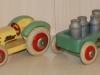 Traktor og vogn Tekno no. 615 + 616