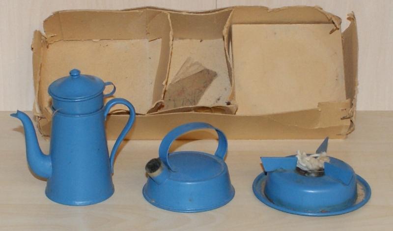 Kaffekande, Kedel og sprit apparat Tekno no. 138/136/132