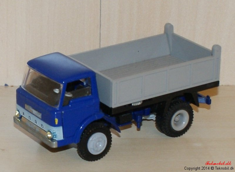 Ford D 800 Tipvogn Tekno 914