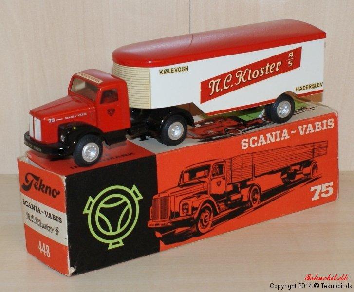Scania Vabis Sættebil Tekno no. 448-3