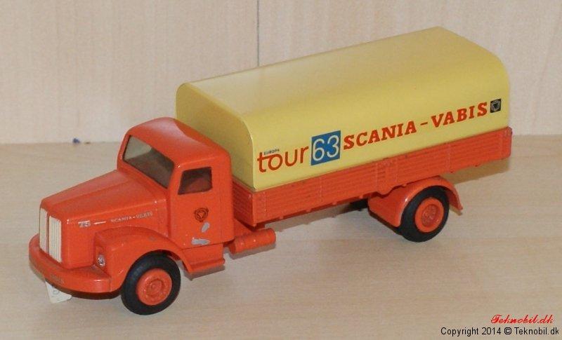 Scania Vabis Lastbil Tekno no. 446-4
