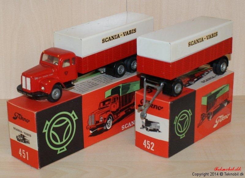 Scania Vabis Tekno no. 451+452