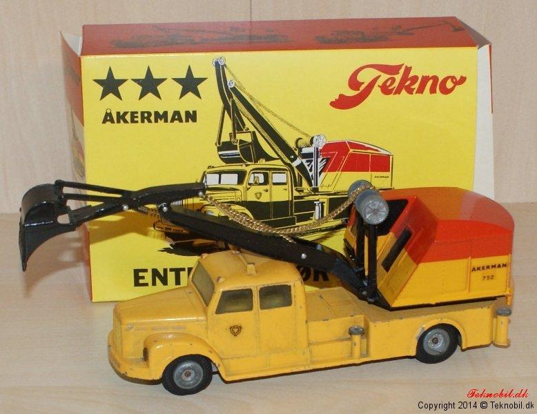Scania Vabis Entreprenørvogn Tekno no. 863