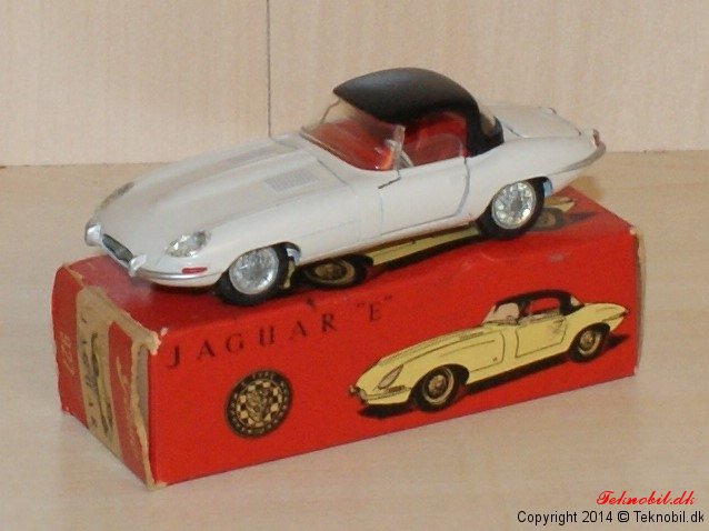 Jaguar E Tekno no. 927